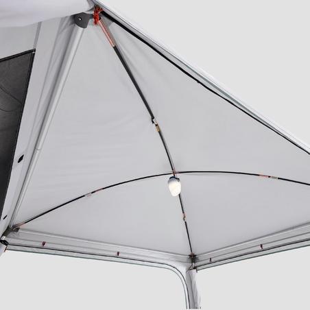 Arpenaz Base Fresh Tenda Kemah Untuk Area Ruang Keluarga - 10 Orang