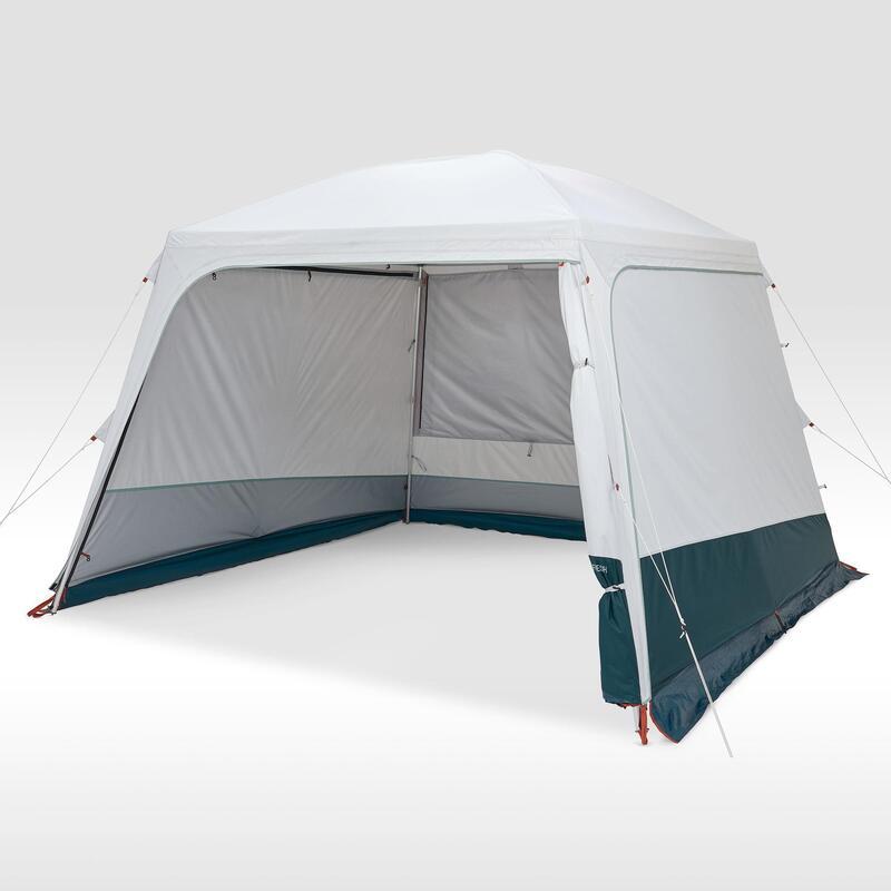 Séjour Auvent à arceaux de camping - Arpenaz Base Fresh - 10 Personnes