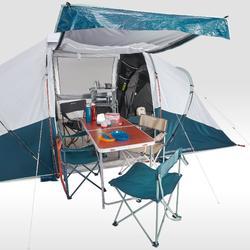 Tente à arceaux de camping - Arpenaz 4.2 F&B - 4 Personnes - 2 Chambres