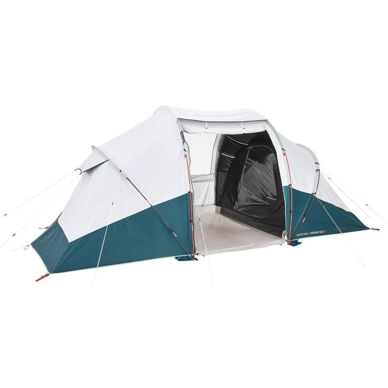 Tienda de Campaña Familiar Camping Arpenaz 4.2 Fresh&Black 4 Personas UPF50+