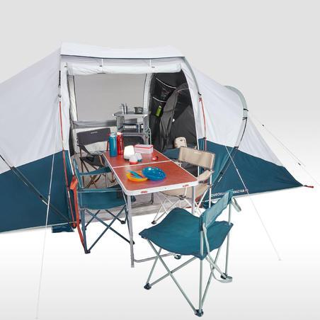Camping Tent 4 Persons 2 Bedrooms (Arpenaz 4.2 F&B) - Quechua