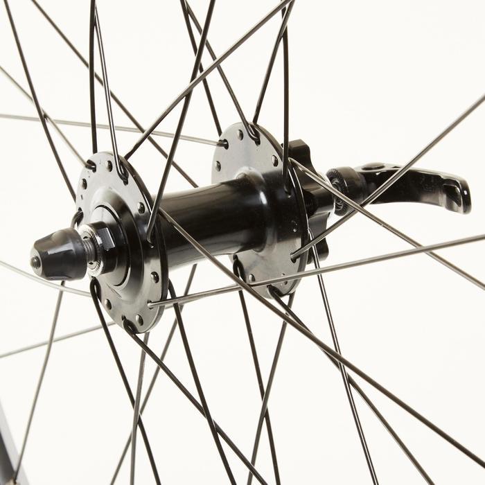 Voorwiel voor racefiets 650 schijfrem tubeless (23C)