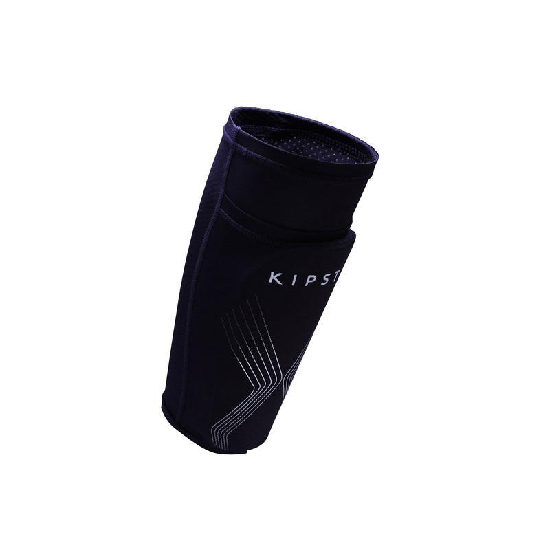 F700 Adult Football Shin Pads - Navy Blue