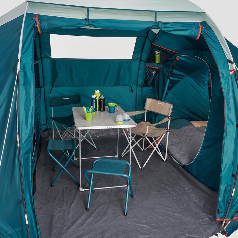 เต็นท์ทรงกรวย 2 ห้องนอนรุ่น Arpenaz 4.2 สำหรับ 4 คน