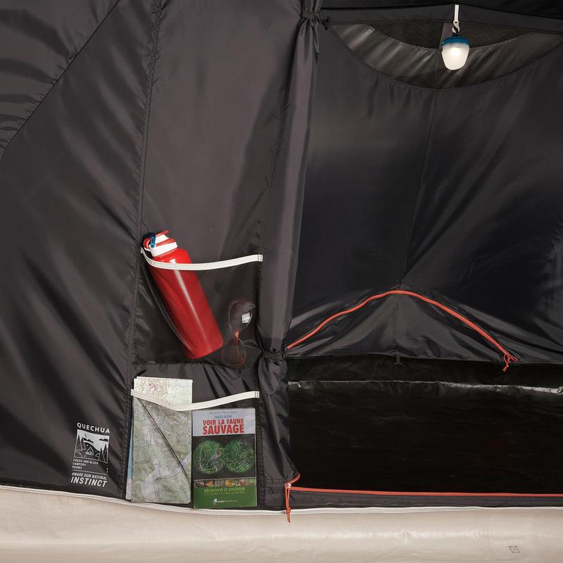 เต็นท์ตั้งแคมป์สำหรับครอบครัวรุ่น Air Seconds 4.2 XL Fresh & Black | สำหรับ 4 คน