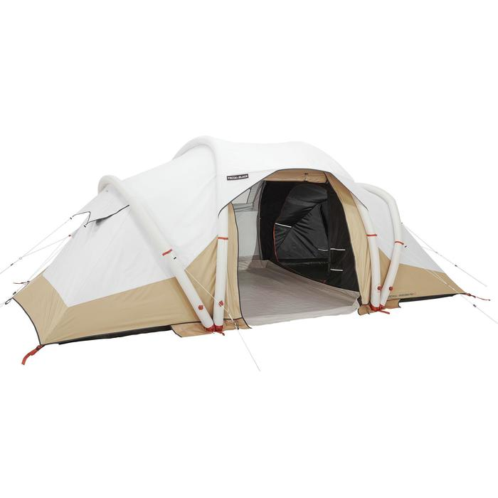 Tente gonflable de camping - Air Seconds 4.2 F&B - 4 Personnes - 2 Chambres