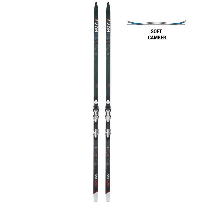 Ski's voor skatinglanglaufen volwassenen 900 Soft Camber Rottefella Xcelerator