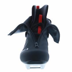 Skating langlaufschoenen voor volwassenen XC S BOOTS 500 zwart