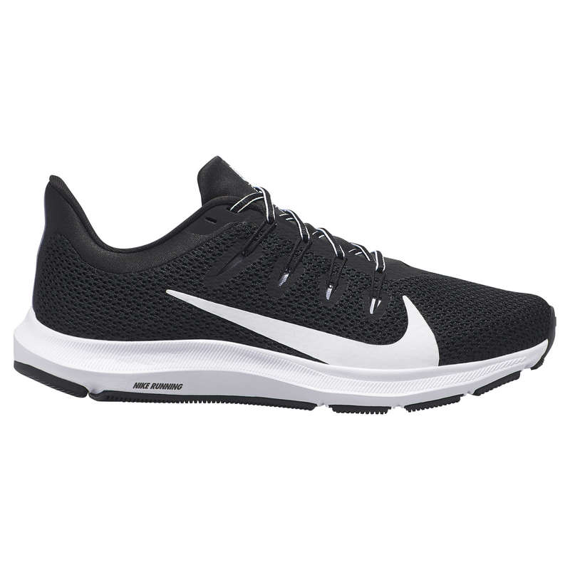 SCARPE UOMO RUNNING REGOLARE Running, Trail, Atletica - Scarpe running uomo QUEST nere NIKE - Running, Trail, Atletica