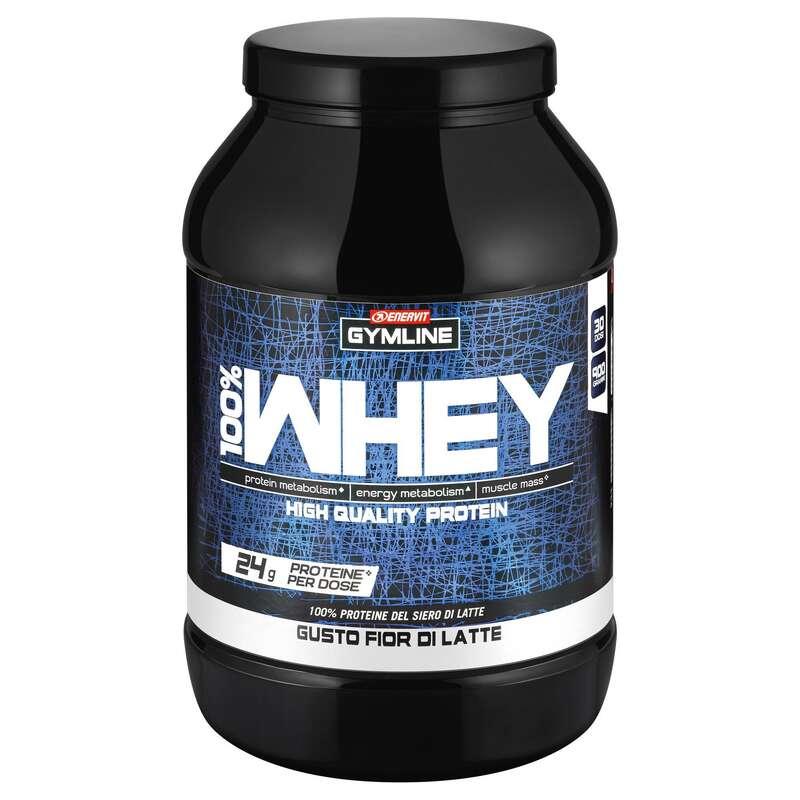 PROTEINE E COMPLEMENTI ALIMENTARI Proteine mantenimento muscolare - Gymline 100%Whey Fior di latte ENERVIT - Boutique alimentazione 2019