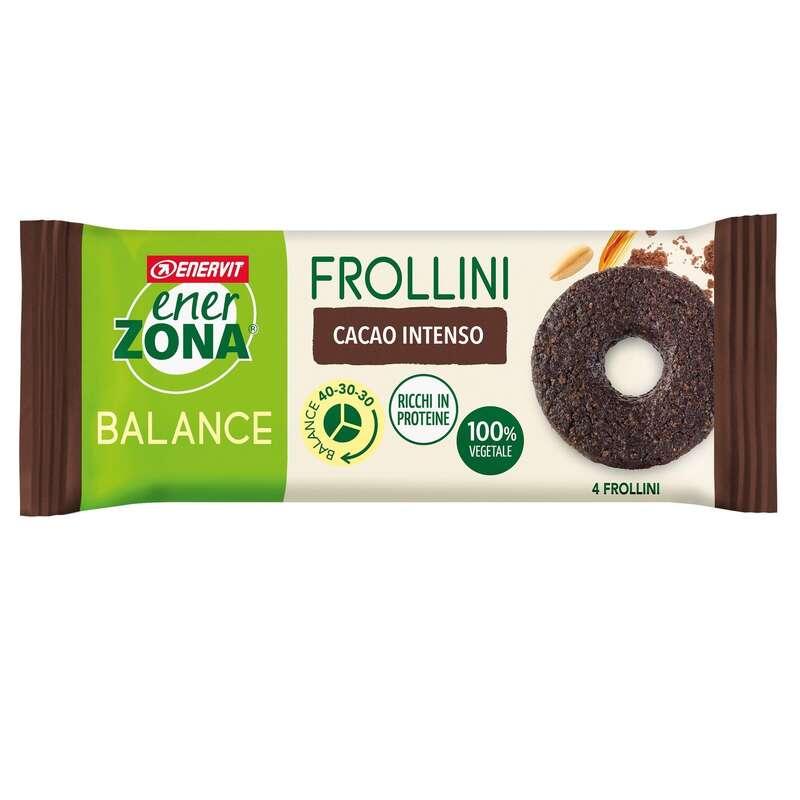 BARRETTE, GEL E RECUPERO Alimentazione - Frollini cacao monodose ENERZONA - Alimentazione