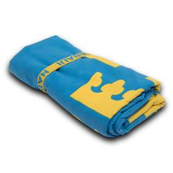Supercompacte microvezel handdoek Zweden maat L 80 x 130 cm