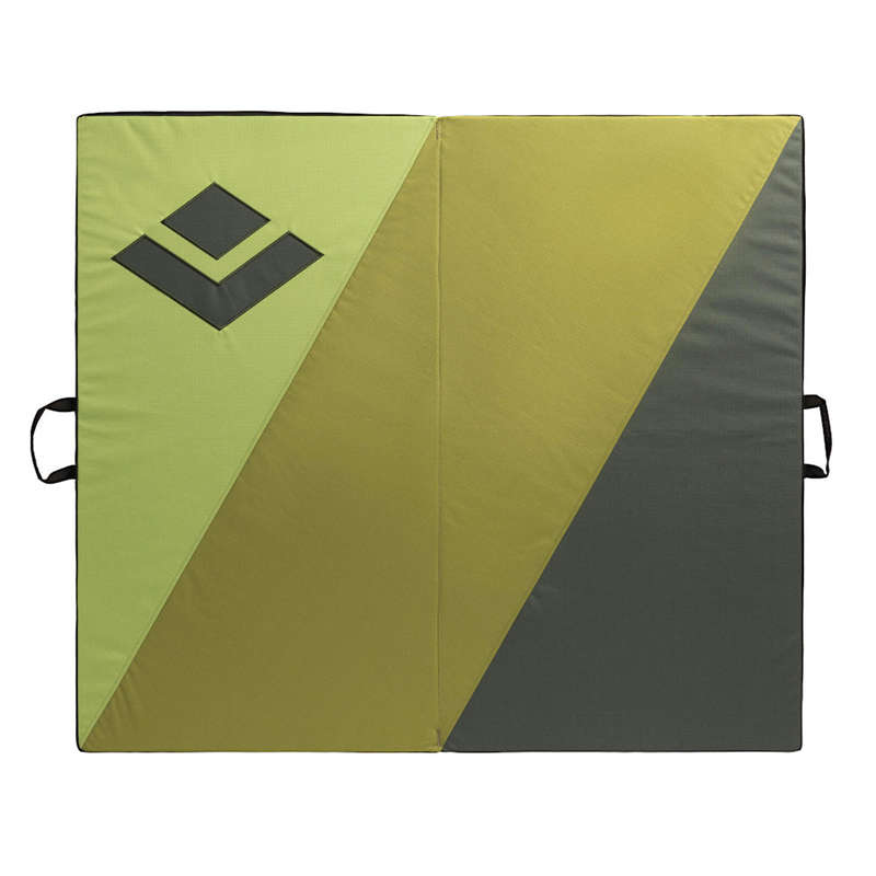 Crash Pad Klettern - Crashpad Impact 1m × 1,14m BLACK DIAMOND - Kletterausrüstung
