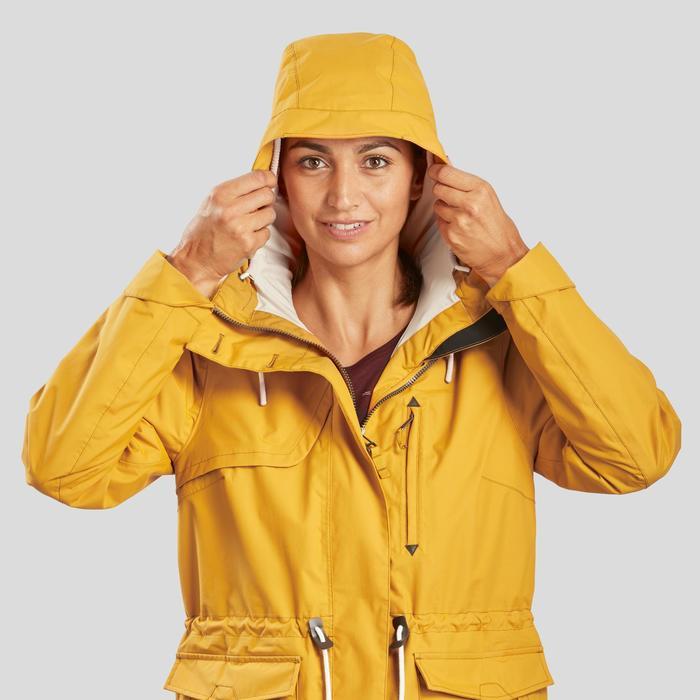 Veste imperméable de randonnée nature - NH550 Imper - Femme