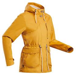 女款郊野健行防水防雨外套NH550