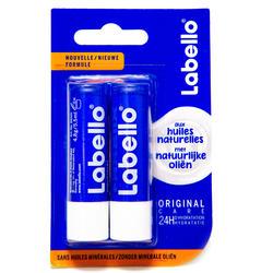 Bálsamo lápiz de labios Labello Classic Dúo