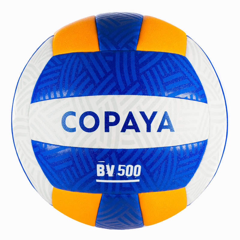 BEACH-VOLLEY Volleyball and Beach Volleyball - BVBH500 - Yellow COPAYA - Volleyball and Beach Volleyball