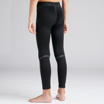 מכנסי טייץ' Keepdry 100 חמים ונושמים - שחור