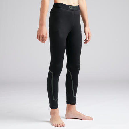 Keepdry 100 Warm Tights Black-Kids