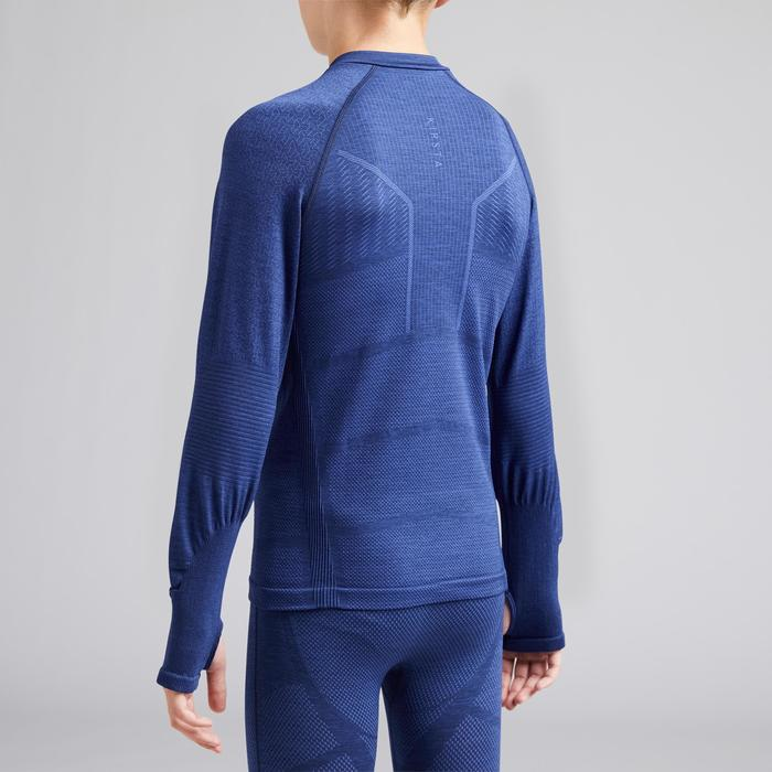 Keepdry 500 Kids' Base Layer - Mottled Blue