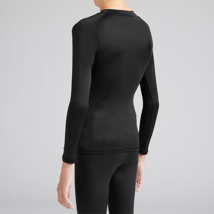 Sous-vêtement thermique enfant Keepdry 100 chaud noir