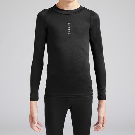 Sous-vêtement Keepdry 100 chaud noir - Enfant