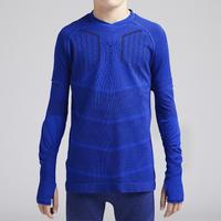 Sous-vêtement respirant 500 bleu indigo - Enfant