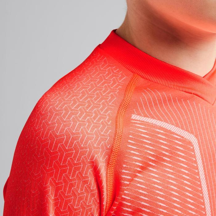 Voetbalondershirt voor kinderen Keepdry 500 rood