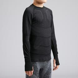 Keepdry 500 Kids' Base Layer - Black