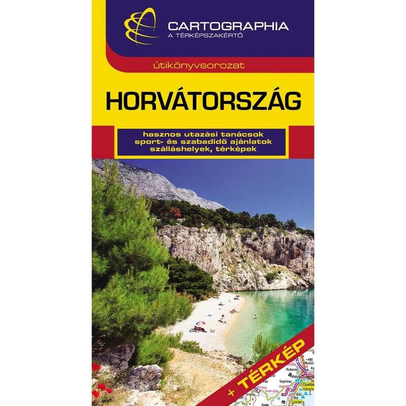 Térképek Túrázás - Horvátország útikönyv CARTOGRAPHIA - Túra felszerelés