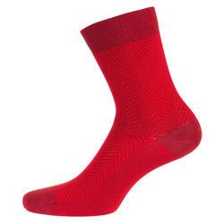 自行車襪RoadR 520-紅色