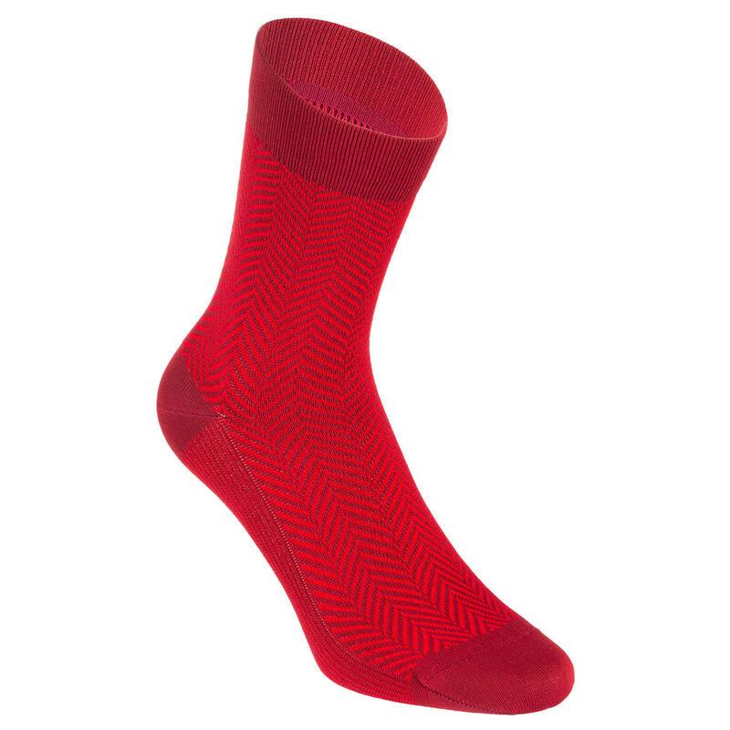 Summer Road Cycling Socks 520 - Red