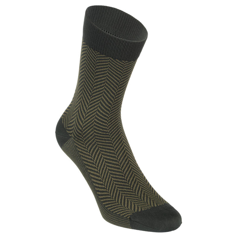 Summer Road Cycling Socks 520 - Khaki