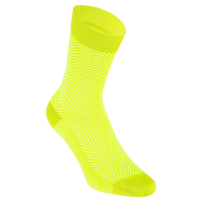 ROAD SOCKS WARM WEATHER Cycling - Graphic Socks RoadR 520 VAN RYSEL - Clothing