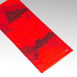 Fiets sjaal RR 100 rood/bordeauxrood