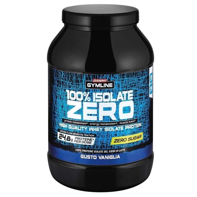 PROTEINE E COMPLEMENTI ALIMENTARI Proteine mantenimento muscolare - GYMLINE 100%WHEY ZERO VANIGLIA ENERVIT - Boutique alimentazione 2019