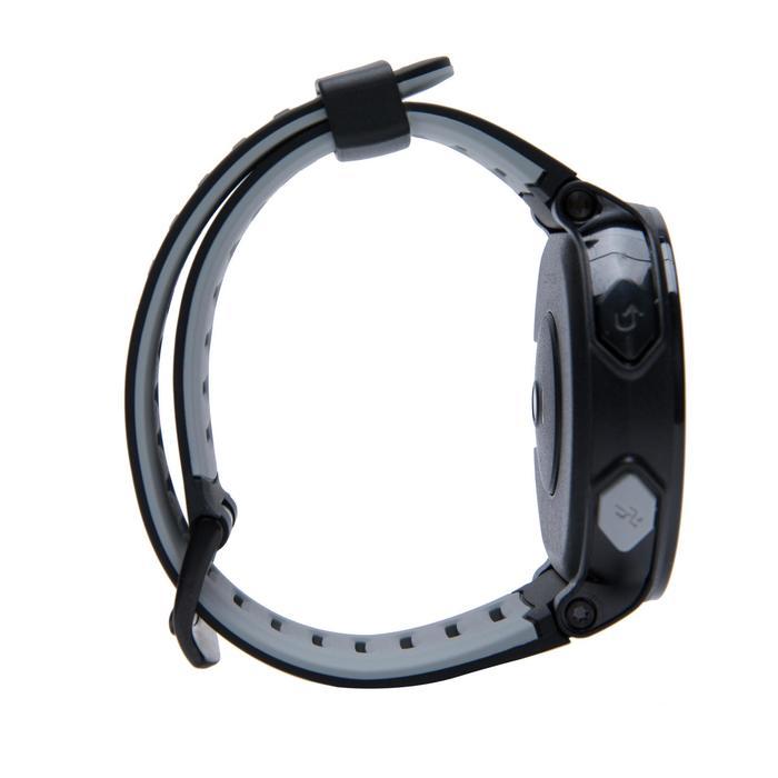 GPS跑步運動錶與腕戴式心率監測器Pace - 黑色紅色