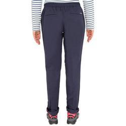 女款耐穿航海長褲Sailing 100-軍藍色