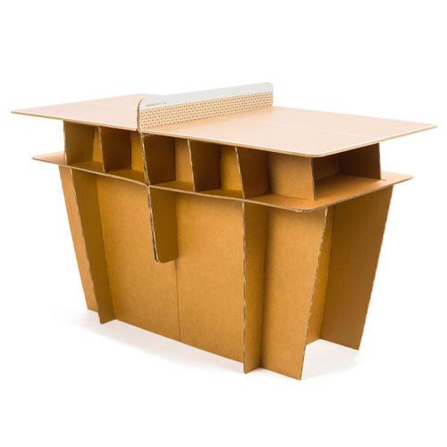 table de tennis de table free ppt 100 small indoor - structure carton et plateau bois