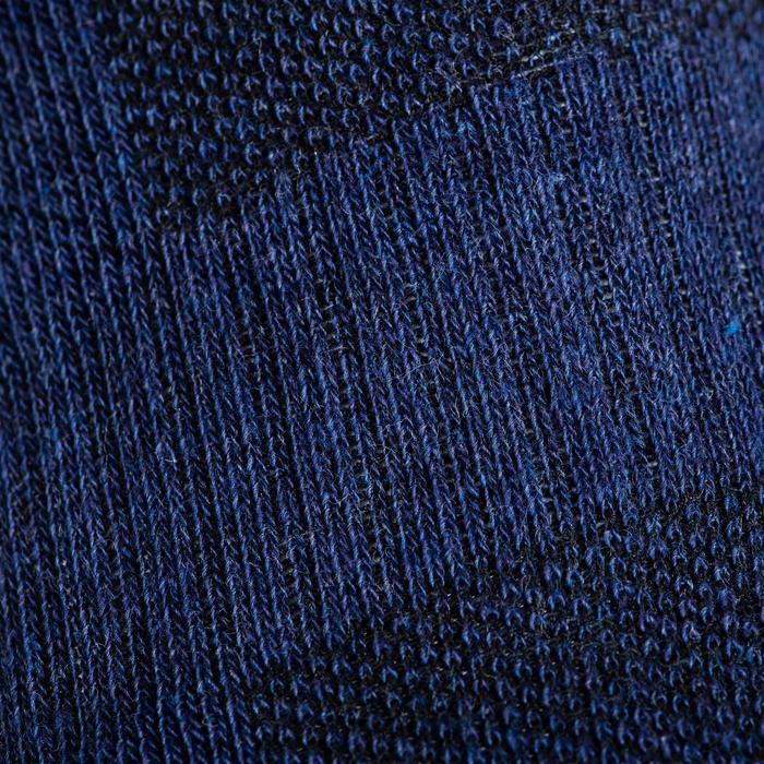 Tennissokken RS 500 high gemêleerd blauw 3 paar