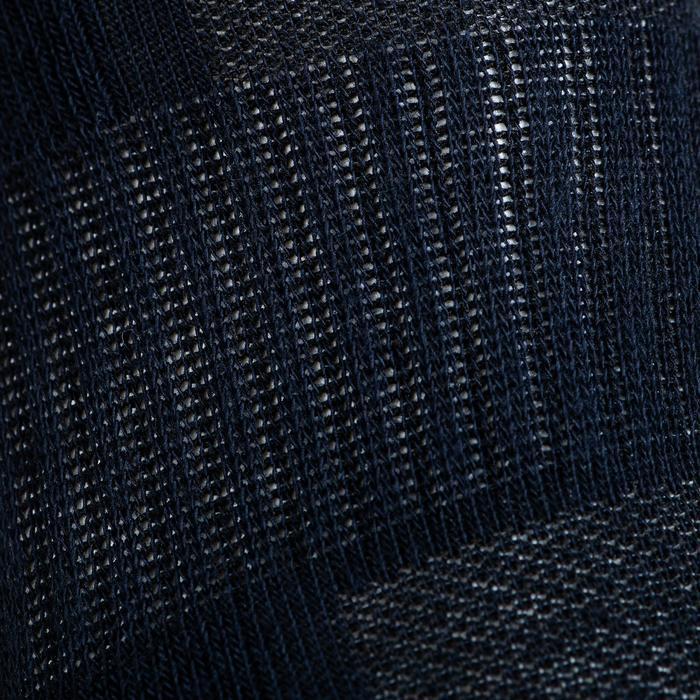 Tennissokken RS 500 mid marineblauw 3 paar