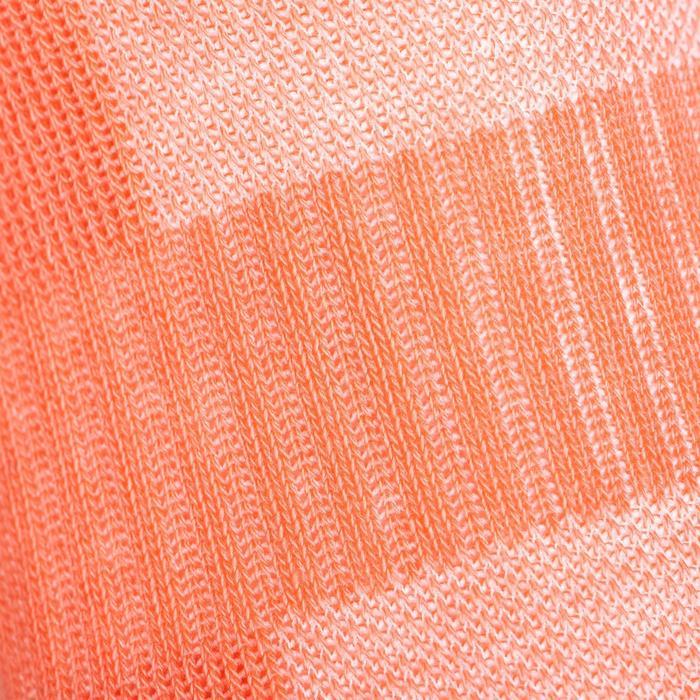 Tennissokken RS 500 low wit/roze/groen 3 paar