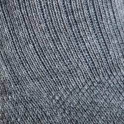 Tennissokken voor kinderen RS 500 high gemêleerd grijs 3 paar