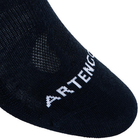 CHAUSSETTES DE TENNIS BASSES RS 160 MARINE LOT DE 3
