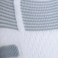 High Tennis Socks RS 560 Tri-Pack - White/Grey
