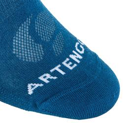 High Tennis Socks RS 160 Tri-Pack - Blue/Black/Navy