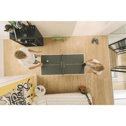 Mini Tafeltennistafel / pingpongtafel Indoor PPT 130 Small grijs