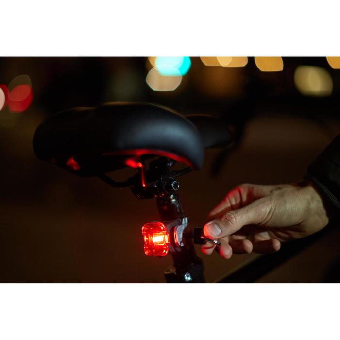 ECLAIRAGE VELO LED RL 520 ARRIERE LOCK USB