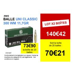 RWS Uni classic 300 WM 11.7gr