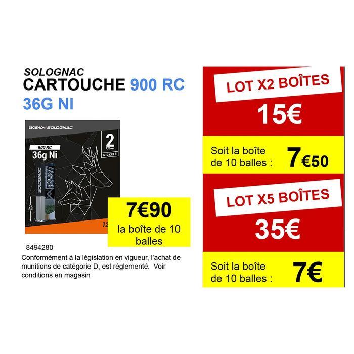 Cartouche 900 RC 36g NI plomb n°2